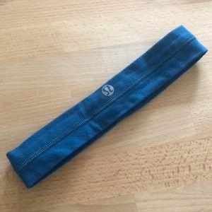 Lululemon headband teal blue